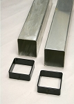 GS-36SQ Aluminum Ground Sleeves (Pair)