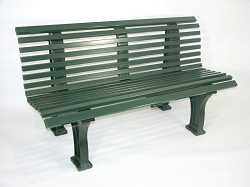 Deluxe Courtsider Bench 5'