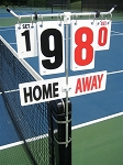 Match Point Professional Model Home-Away Score Cards