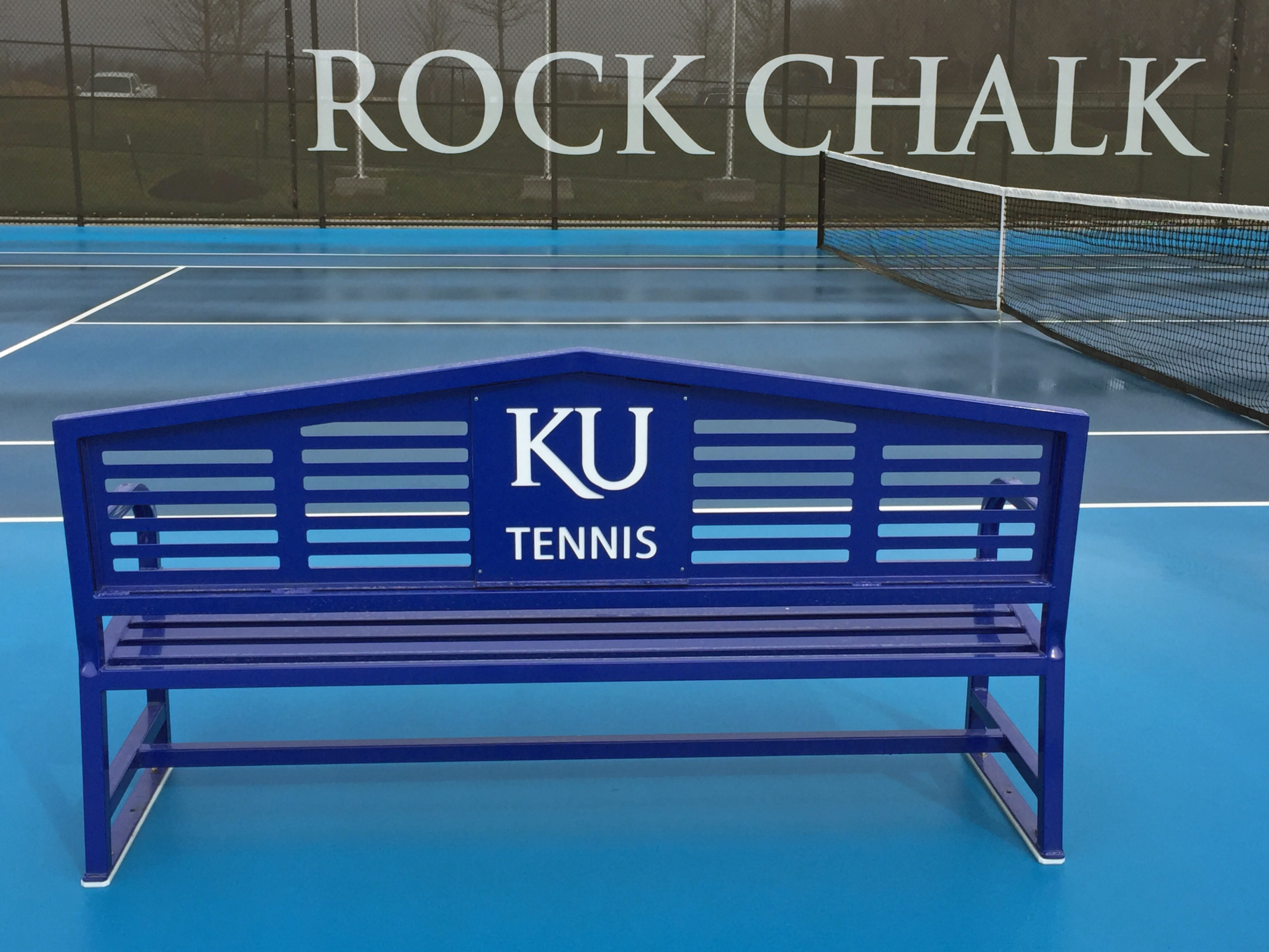 Apex Logo Tennis Bench 6'