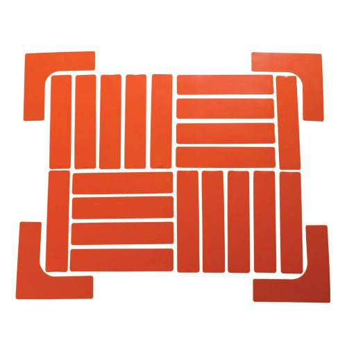 Quick-Mark Boundary Markers Set - Orange