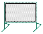 Replacement Net 9.25 X 12.5 For Bakko Net Series