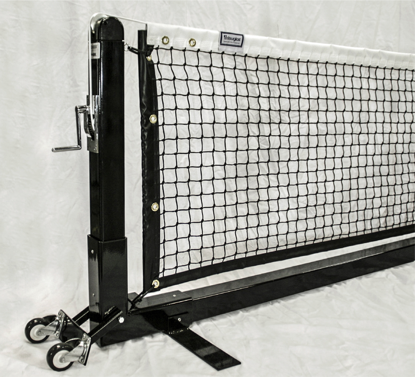 Douglas Premier Square Portable 22' Pickleball Net Post System