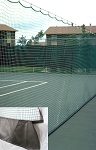 Pickleball Court Divider Netting 10 X 60 W/VCP Kick-Plate