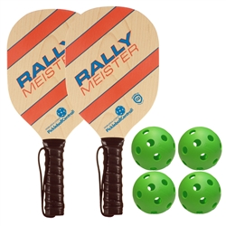 Rally Meister Pickleball Paddle Bundle