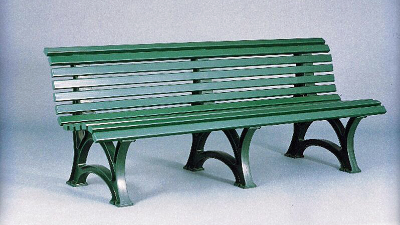 6.5' Deluxe Courtside Tennis Bench