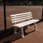 4' Courtside Bench