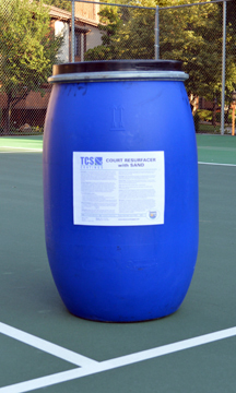 TCS Court Resurfacer with Sand  30-Gal Keg