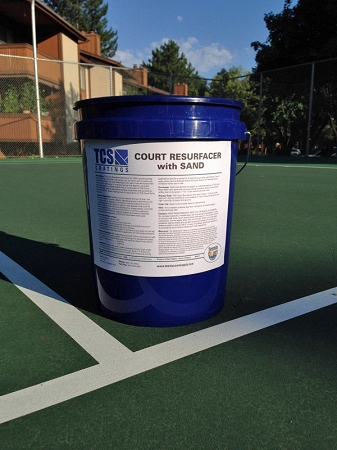 TCS Court Resurfacer With Sand 5-Gal Pail