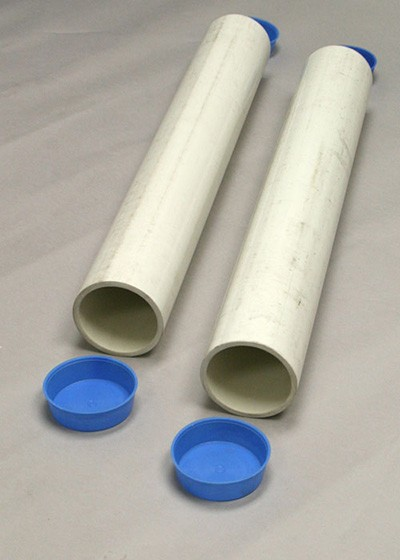 "Douglas PVC 24"" Ground Sleeves For 2-7/8"" Round Posts (Pair)"