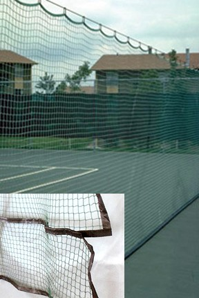 Indoor Outdoor Divider Net W/Net Skirt 10 x 60