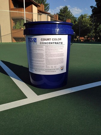TCS Court Color Concentrate 5gal Pail